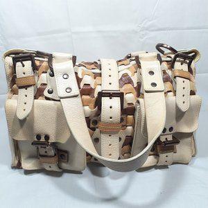 MULBERRY Roxanne Woven Satchel Bag